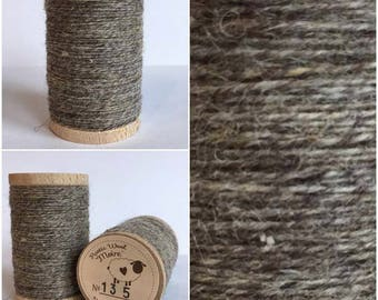 Rustic Moire Wool Thread #135 for Embroidery, Wool Applique and Punch Needle Embroidery