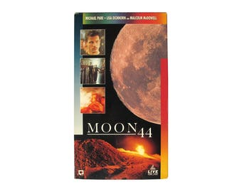 Moon 44 VHS Horror 90s Sci-Fi Science Fiction Future Tech Space Action