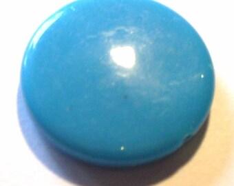 5 beads 25pcs blue opaque 21mm AP309 blue