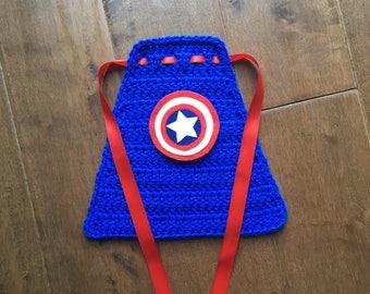 Baby super hero cape, newborn superman,newborn superhero, superhero photoprop, captain america cape