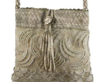 Vintage Lace Wedding Handbag 8544