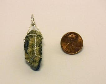 Wire Wrapped Stone Pendent
