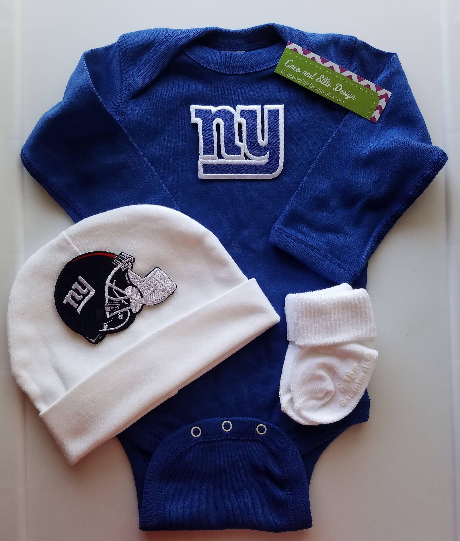 New York giants baby outfitny giants babyny giants