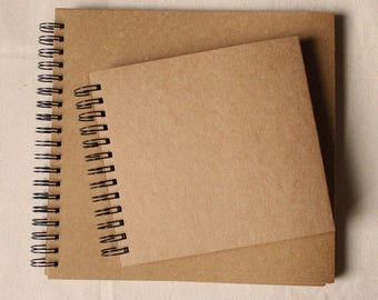 98pages Kraft Scrapbook, Kraft sketch book,Wedding Guest Book