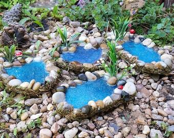 Fairy Garden Pond, Miniature Pond, Fairy Garden Accessory, Miniature Garden Pond,Fairy Garden Bog, Miniature Garden Accessory, Fairy Garden