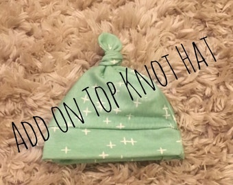 Add on top knot hat with any purchase of leffings