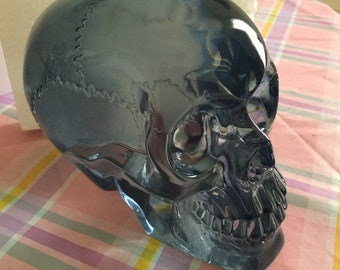 Large glass skull