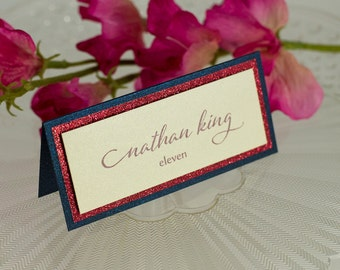 Triple-Layered Seating Card