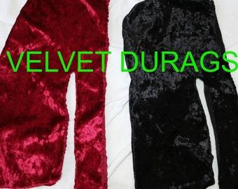Black Velvet Durags
