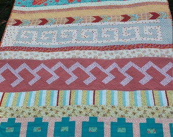 Seminole Quilt Wall Hanging