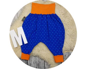 Baby pants, baby, trousers, Jerseyhose, wax trousers, Pumphose, harem trousers, dots, dots, dab