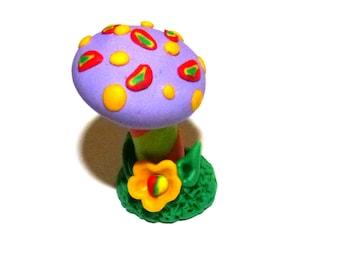 Whimsical Miniature Hand sculpted terrarium garden Lovely MiniatureTroll ,Fantasy gnome, elf, fairy house for miniature garden PR554