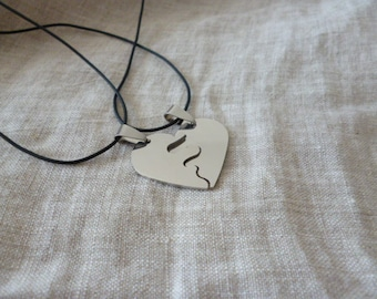 friendship stainless steel necklaces FS653298787_GIFT IDEAS