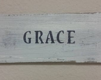 Handmade Hand Painted Signs from Salvaged Wood