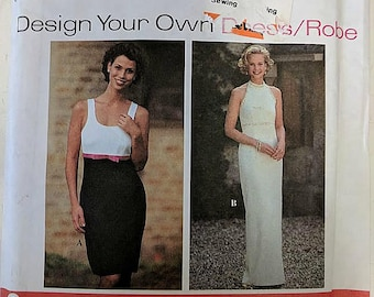 9865, Simplicity, Dress Pattern, Sewing Pattern, Size 16-20, Out of Print