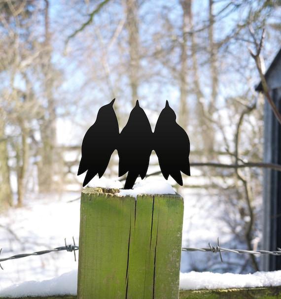 Garden Bird Singers Garden Sculpture, Bird Lover's Yard Art