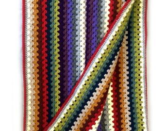 Highland Throw Crochet Pattern WM2043