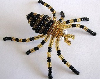 3-D Beaded Spider - Tutorial