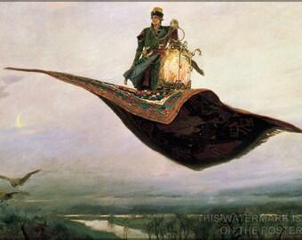 Poster, Many Sizes Available; The Flying Carpet By Viktor Vasnetsov (1880