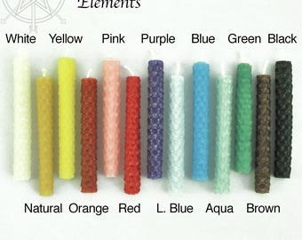 Beeswax Chime Candles Ritual Candles Pagan Wicca
