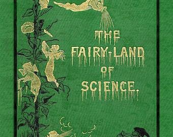 Art Nouveau Print  - Fairy Art - Art Deco Print - Vintage Picture - Fairy Picture - Antique Book - Antique Illustration - 8x10