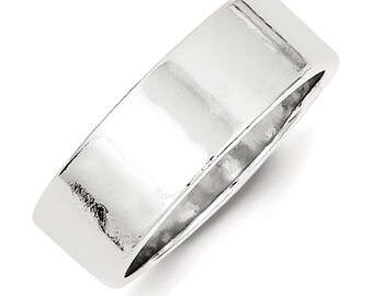 Sterling Silver Ring Size 11 Promise Wedding Band Engraved Personalized Inside Ring Engraving CKLQWFB070-11