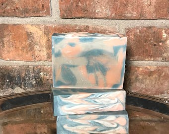 Apple Balsam Pine handcrafted soap Christmas gift all natural
