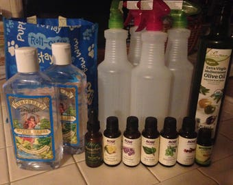 Natural Bug Spray, Insect Repellent, 18 Oz
