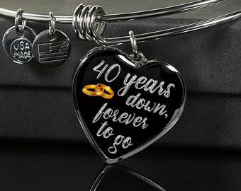 40th wedding anniversary Etsy