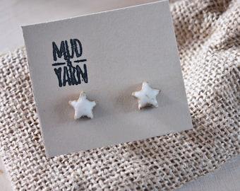White Star Studs