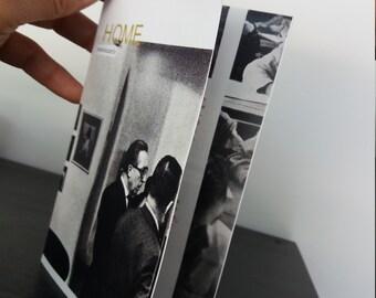 Art Zine Card #Home, Zines, artist book, zine art book, Israeli artist Taly Levi Tal Stoobik, self published book, unusual picture book