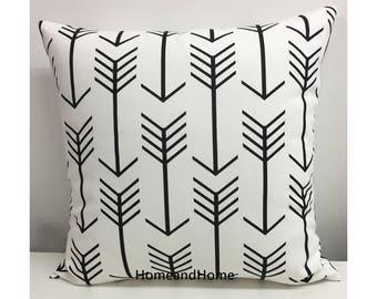 Pillow cover Zipper Closure Arrow pillow cover Premier Navy Blue Orange Grey Pillow Cover Decorative Throw Pillow 12x16 16x16 18x18 20x20