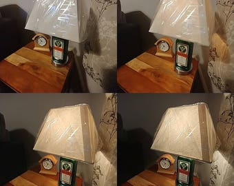 new style jagermeister touch dimmer base novelty table desk lamp