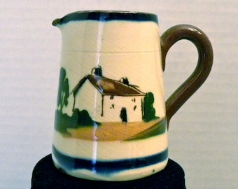 Motto Ware Creamer from the Watcombe, Devon Pottery, UK