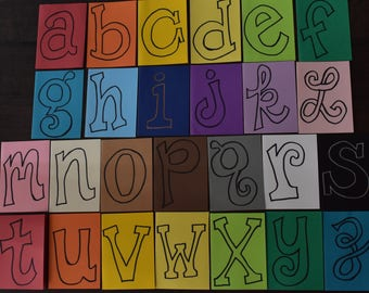 Alphabet Cards (pack of 26)