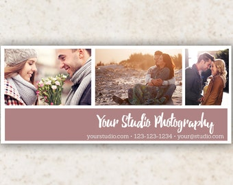 Facebook Cover Photo Template PSD - Photography Facebook Cover - *INSTANT DOWNLOAD*