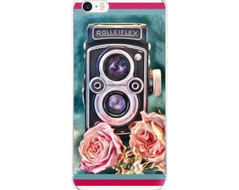 iPhone Case Photographer, Rolleiflex, Vintage