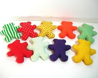 Teddy Bears For Crafts, Rainbow Bears