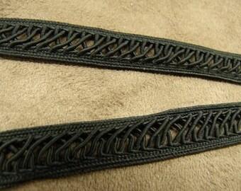 fancy - 1.3 cm - black ribbon