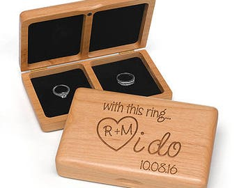 I do Wooden Ring Box