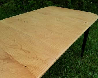 Curly Maple Extension Table