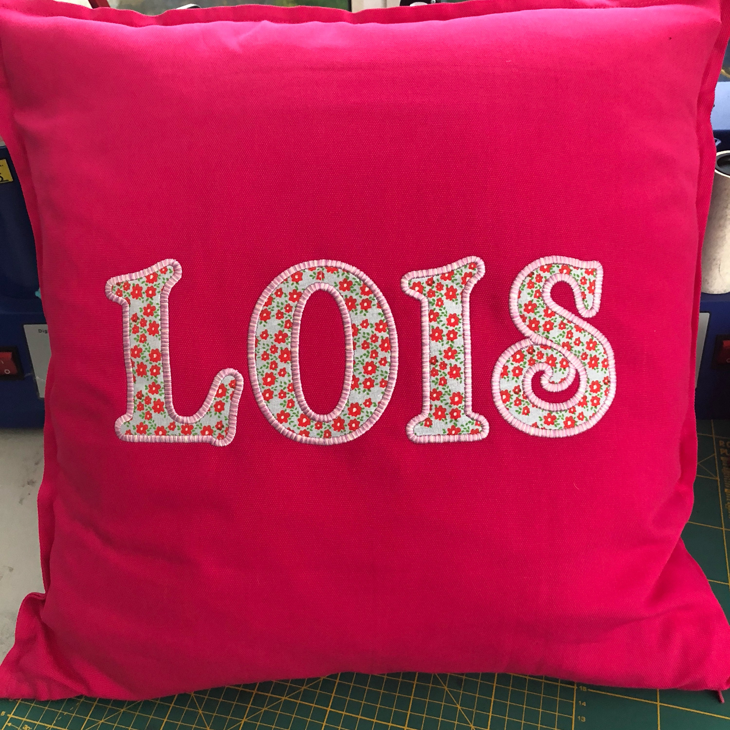 Personalised custom name cushions gift unique