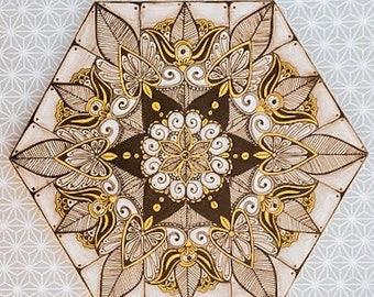 Sacred Geometry - (MandalaHEX) Original