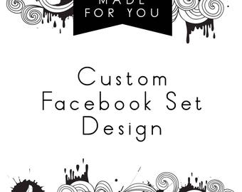 Facebook Cover, Facebook Set, Facebook Design, Facebook Timeline Cover, Facebook Frame, Facebook Banner, FB cover, FB Design, Fb banner, Set