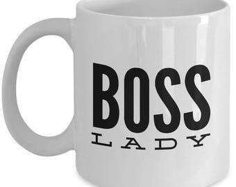 Boss Lady Coffee Mug - Funny Coffee Mug