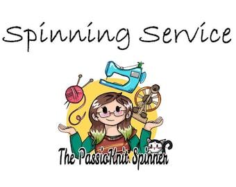 Spinning Service - ADD ON