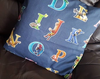 Alphabet Character Cushion