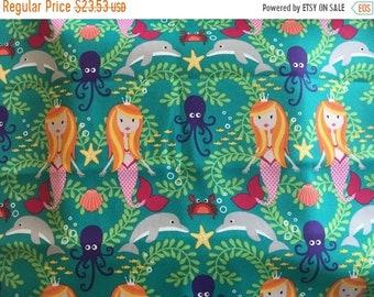 Gedenktag Verkauf 14 x 14 süße Spulen nasse Sack - Meerjungfrauen und Freunde - Naht versiegelt - Boutique-Qualität
