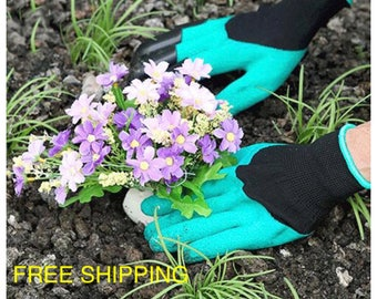 Garden Gloves with digging claws, FREE SHIPPING