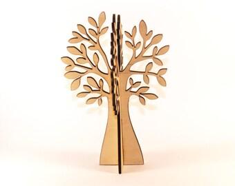 3d wood tree, Tree shape, Wooden tree, Wood tree decor, Tree decorations, wood tree shape, 3d wood table, Tree favors, Unique Wood tree